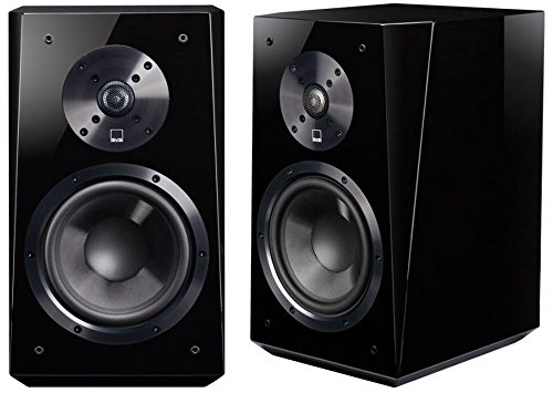 SVS Ultra Bookshelf Speaker (Pair) - Piano Gloss Black (Ultra Speakers)