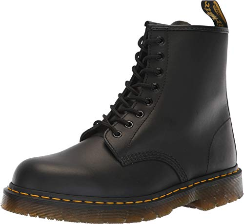 Dr. Martens Work Unisex 1460 SR 8-Tie Boot Black 7 M UK ()