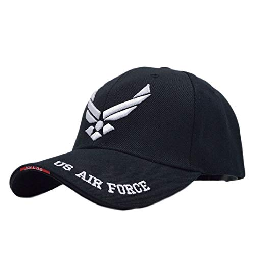 US Air Force One Mens Baseball Cap Airsoft Sports Tactical Caps Navy Seal Army Cap Black