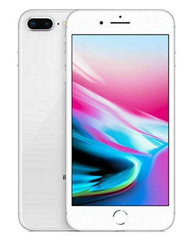 Apple iPhone 8 Plus, 256GB, Silver – For AT&T / T-Mobile (Renewed)