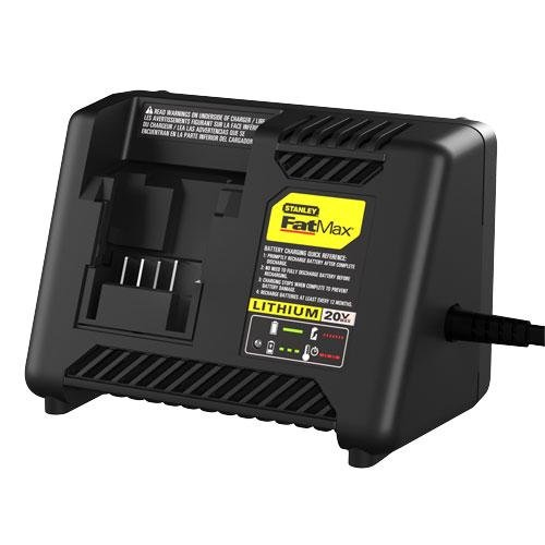 Stanley FatMax 20V Max Lithium Ion Battery Charger by Stanley