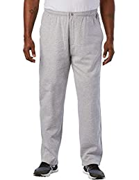 Men's Big & Tall Fleece Zip Fly Pants