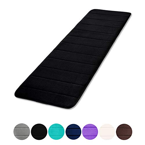 Memory Foam Soft Bath Mats - Non Slip Absorbent Bathroom Rugs Rubber Back Runner Mat for Kitchen Bathroom Floors 16