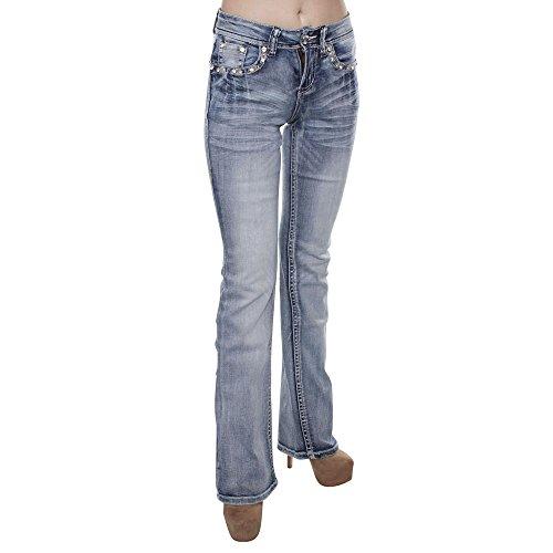 Long Bootcut Jeans - 8