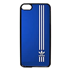 Blue Simple Adidas Series Cell Phone Case Customised Adidas Logo Cover Case for Ipod Touch 6th Generation