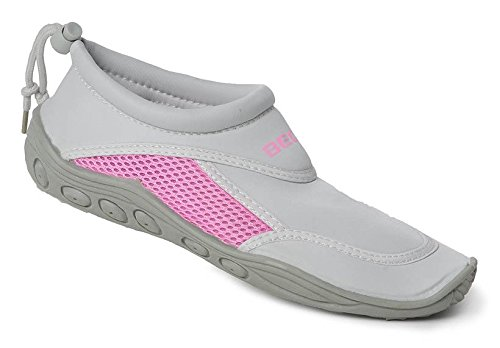Beco Zapatillas de surf - hellgrau/pink