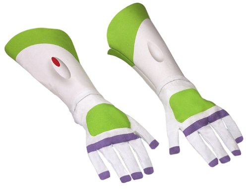 Toy Story: Buzz Lightyear Gloves - One Size (Discontinued by manufacturer) (Disney Buzz Lightyear Costume)