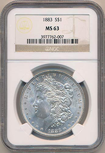 1883 P Morgan Dollar Dollar MS63 NGC