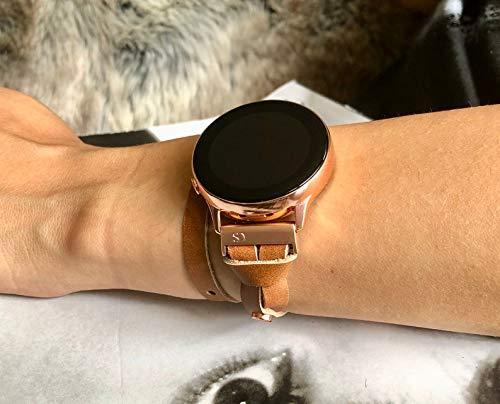 Amazon.com: Double Wrap Bronze Brown Leather Bracelet for ...
