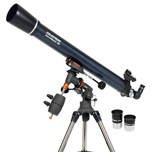 Celestron 21064 AstroMaster 90 EQ Refractor Telescope Celestron