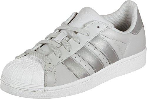 adidas Superstar C, Zapatillas de Deporte Unisex Niños Gris (Grpulg / Plamet / Ftwbla 000)