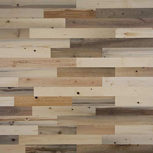 Timberchic DIY Reclaimed Wooden Wall Planks - Simple Peel and Stick Application. (3