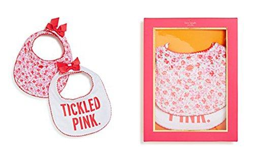 Kate Spade Tickled Pink Baby BIB Gift Box Set 2 Pieces Set