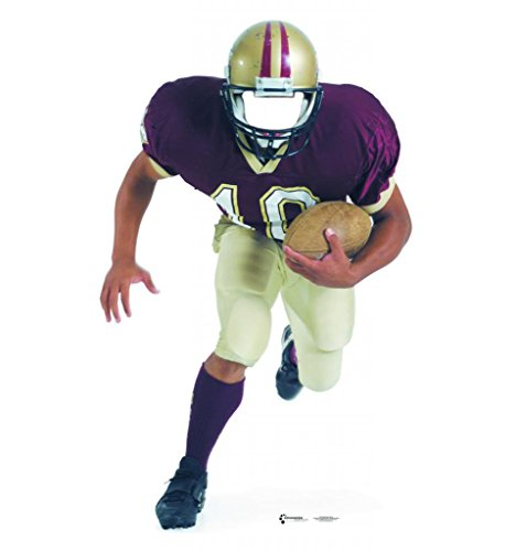 Football Player Stand In   Advanced Graphics Life Size Cardboard Standup