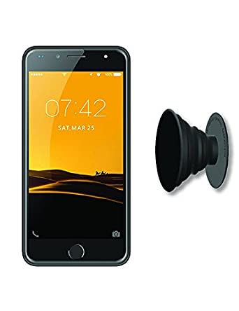 IKALL K1 5 Inch 4G Android Phone With Freebie Grip/Stand - Silver