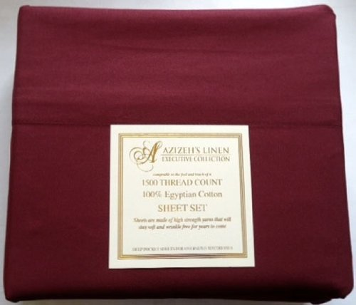 Amazon.com: 1500 Thread Count Egyptian Cotton Quality Sheet Set Deep Pockets Wrinkle Free (Black, King): Home & Kitchen