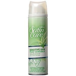 Gillette Satin Care Sensitive Skin Shave Gel For Women – 198G