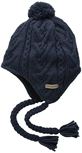 Columbia Adult Parallel Peak II Peruvian Hat, Nocturnal, One Size