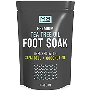 M3-Naturals-Tea-Tree-Oil-Foot-Soak-Infused-with-Stem-Cell-and-Coconut-Oil-Epsom-Salt-for-Athletes-Foot-Stubborn-Odor-Calluses-Sore-Feet-Toenail-Fungus-Cracked-Heel-Bath-Spa-16-oz