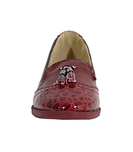 Shoes Mujer By para Merceditas Red Wini nx6n8Z0wqg
