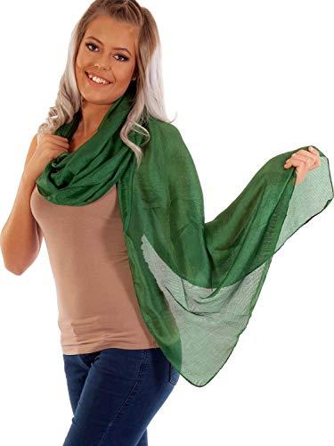 DOLCE ABBRACCIO by RiemTEX ® Schal Damen PRIMA DONNA Stola Tuch aus Wildseide Tücher in 31 Unifarben Halstücher Seidentuch Schals Damen Halstuch Seidenschal