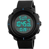 Kids Sport Watch–Resistente al agua al aire última intervensión reloj digital con alarma para los niños, Muñeca relojes con temporizador seewta