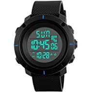Kids Digital Sport Watch - Outdoor Waterproof Watch with Alarm for Boys, Wrist Watches with Timer...