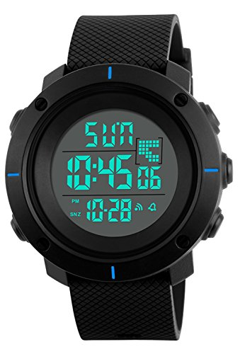 Kids Digital Sport Watch – Outdoor Waterproof Watch with Alarm for Boys, Wrist Watches with Timer SEEWTA