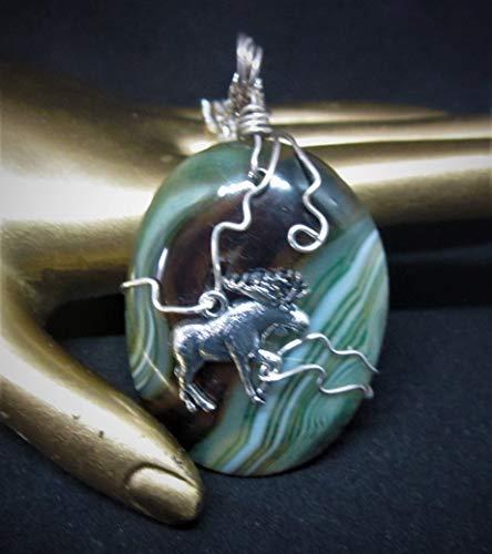 Moose Jewelry, Moose Pendant, Moose Necklace, Moose Lover Gifts, Wildlife Jewelry, Animal Jewelry