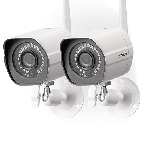 Zmodo Wireless Security Camera System (2...