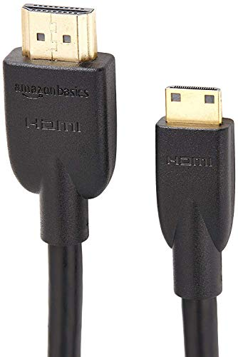 AmazonBasics High-Speed Mini-HDMI to HDMI TV Adapter Cable - 3 Feet (Htc One Mini Vs Htc One Mini 2)