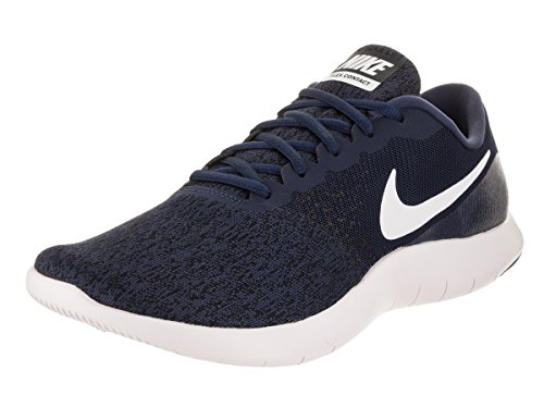 Zapatillas De Running Nike Flex Contact Para Hombre Midnight Navy / Blanco-negro