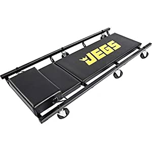 "US Stock 39"" Creeper and Mechanic Seat w Built in Tool Drawer Set Shop Garage JEGS 81150"