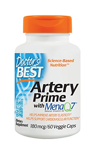 Doctors Best Artery Prime with MenaQ7 180 mg, 60 VC