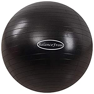 Well-Being-Matters 41EKd1WZaNL._SS300_ BalanceFrom Anti-Burst and Slip Resistant Exercise Ball Yoga Ball Fitness Ball Birthing Ball with Quick Pump, 2,000…