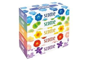 amazon スコッティティッシュ 160組 5個パック 日本製紙クレシア