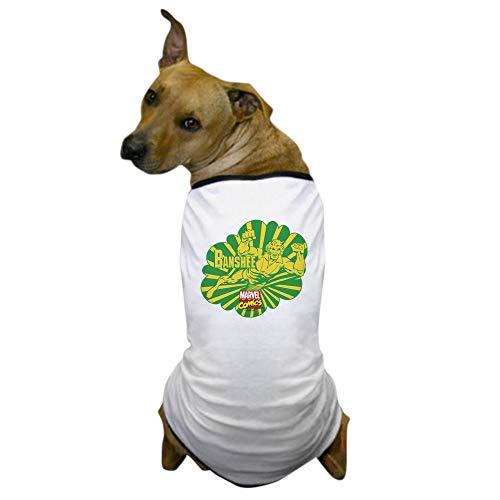 CafePress Sonic Scream Banshee Dog T Shirt Dog T-Shirt, Pet Clothing, Funny Dog Costume
