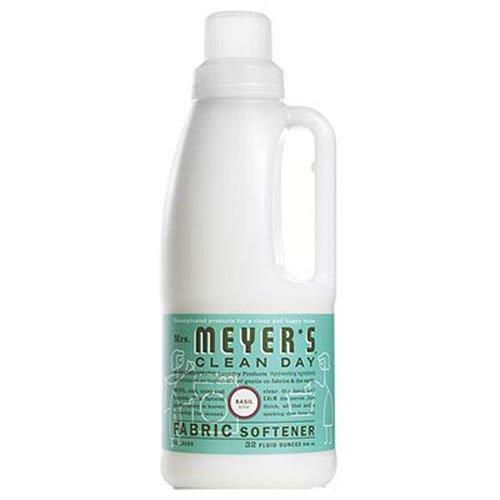 Mrs. Meyer's Clean Day Fabric Softener, Basil, 32 fl oz