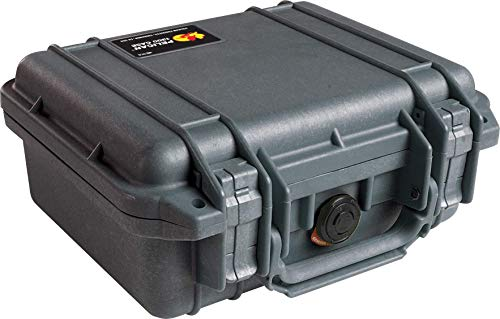 - Pelican 1200 Case With Foam (Black) (Renewed)