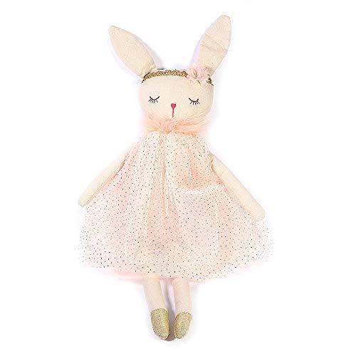 (MON AMI 21IN Bunny Ballerina Designer Plush Doll)