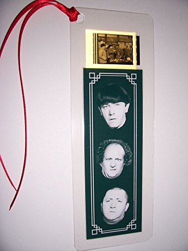 THREE STOOGES Movie Film Cell Bookmark Memorabilia Collectible Complements Poster Book Theater