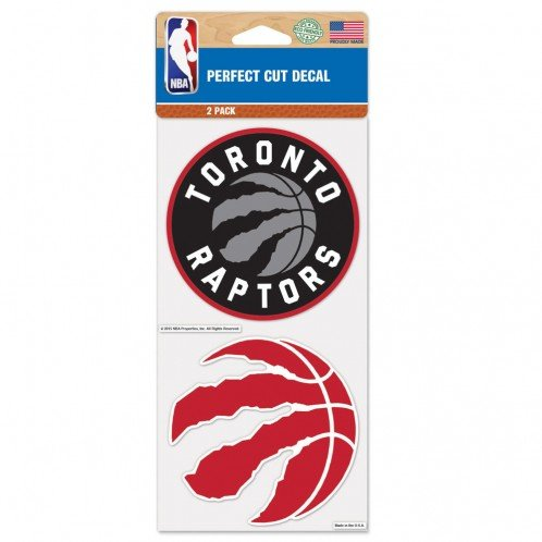 - WinCraft NBA Toronto Raptors Perfect Cut Decal (Set of 2), 4