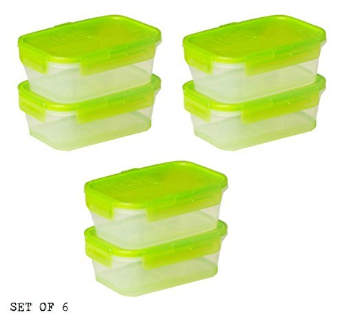 2 cup rectangular storage glass - 9