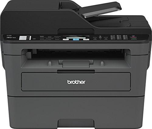 Brother mfcl2710dn Impresora multifunción láser 4en 1Monocromo A 30ppm con Red precableado, Duplex de impresión, ADF de 50Hojas y Pantalla LCD