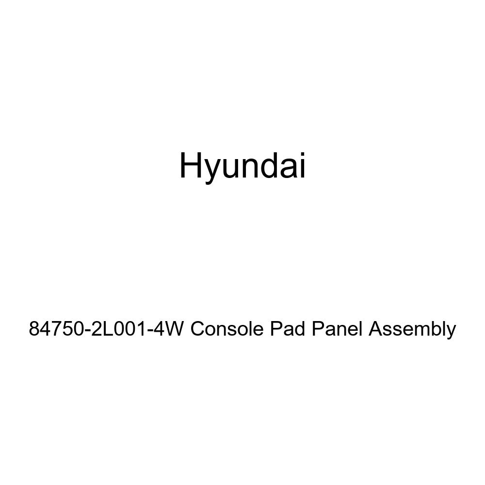 Genuine Hyundai 84750-2L001-4W Console Pad Panel Assembly