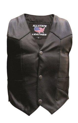 Unisex Leather Vest - 4