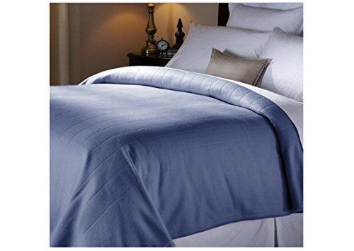 Electric Heated Fleece Blanket, Full , Newport Blue
