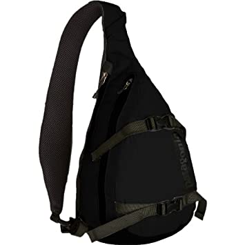 Amazon.com : Black Patagonia Atom Sling Bag - 427Cu In : Sports ...