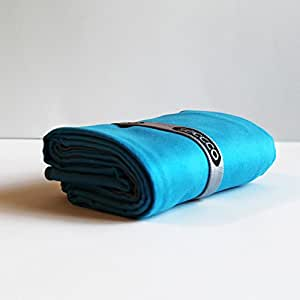 Small Blue Microfiber Towels for Outdoor Lifestyle & Sports