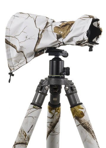 LensCoat LCRSMSN RainCoat RS for Camera and Lens, Medium (Realtree AP Snow)